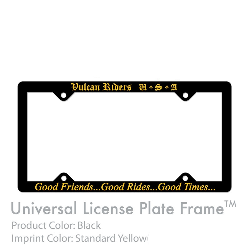 Car /Truck License plate frames
