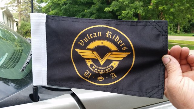VRA Flags   Vulcan Riders Association USA   Good Friends   Good Rides    Good Times