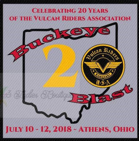20th anniversary VRA / Buckeye Blast  Patch