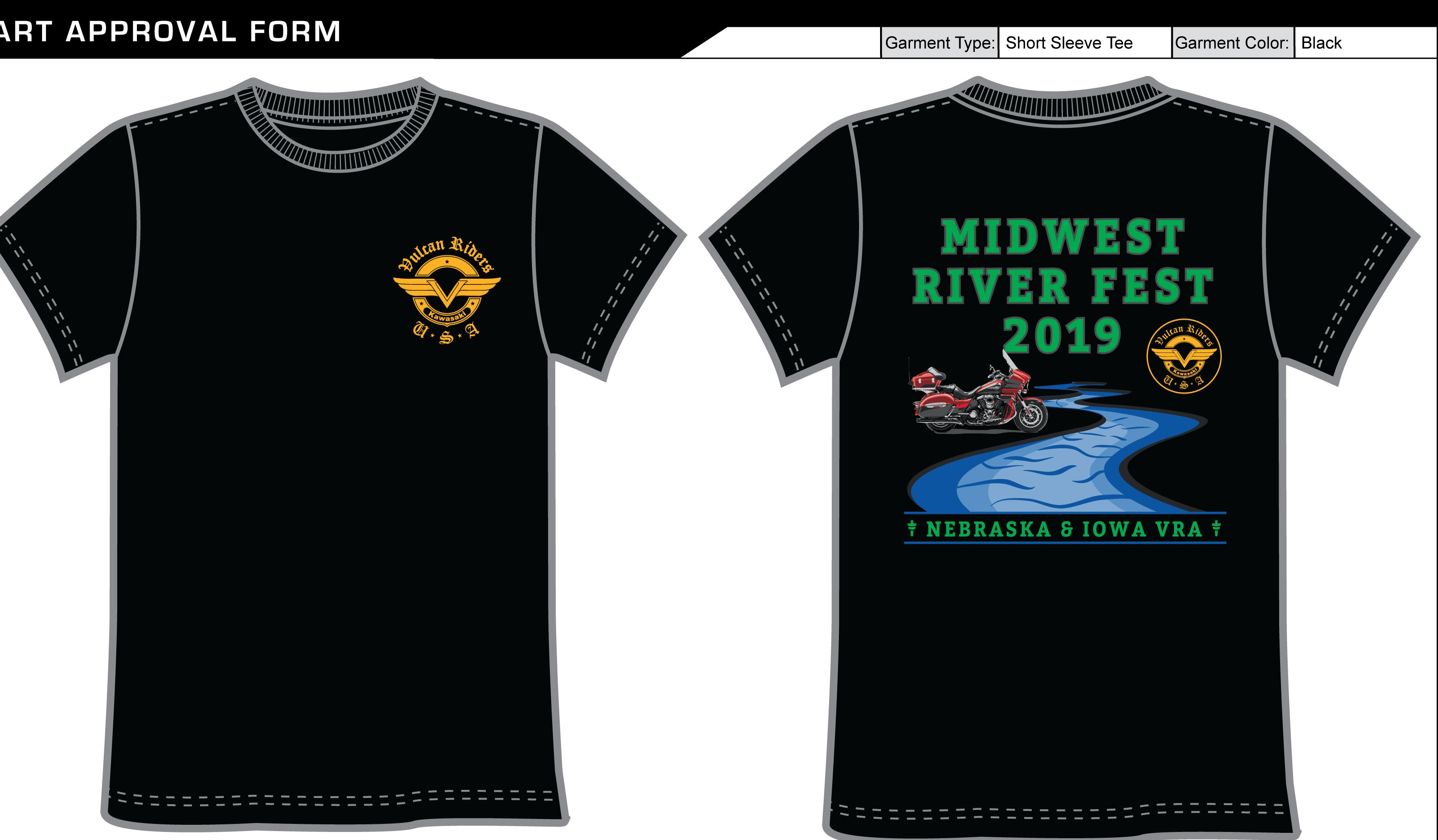 2019 VRA east rally shirts
