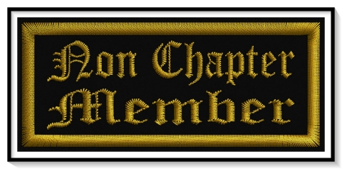 Non Chapter Member Patch