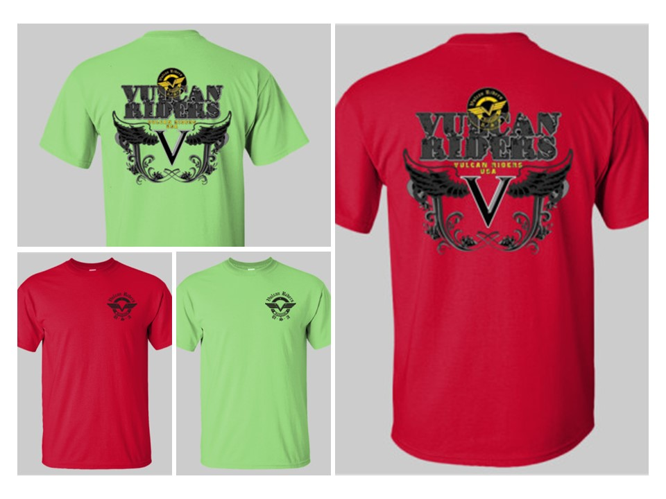 Limited Time Vulcan Riders Shirt Pre-Order