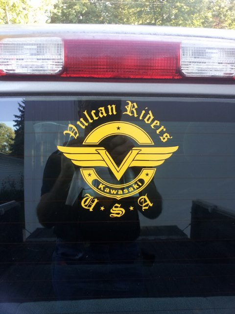VRA Window Decals